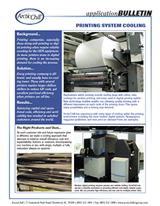 Arctic Case Study: Print System Cooling